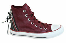 Converse Chuck Taylor Tri Zip Hi Womens Trainers Lace Up Shoes 545022F P1