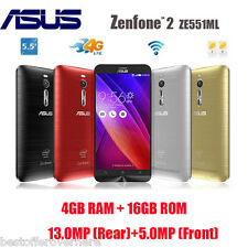 "ASUS ZENFONE 2 ZE551ML 4G Smartphone 5.5 "" FHD Android 5.0 Quad Core 4Gb+16GB"
