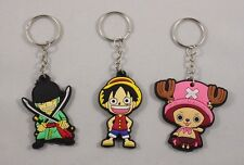 Anime keyring - One Piece Keychain - Pirate Luffy Chopper Zoro