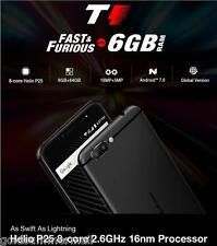 """Ulefone T1 4G Phablet Android 7.0 5.5 """" 2.6GHz 6G + 64GB Sbloccato 3 FOTOCAMERE"""