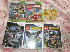VARIOUS CONSOLE GAMES,WII,WII U,GAMECUBE,XBOX 360,3ds,ds,