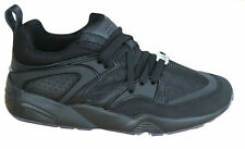 Puma Blaze Of Glory Reflective Mens Trainers Black Lace Up Shoes 362188 03 M12