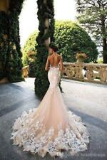 Bridal Gowns Cap Sleeve Wedding Dress Sheer Neck Lace Appliques Illusion Bodices