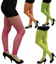 Ladies Hen Night Footless Fishnet Tights Womens Fancy Dress Party Wear Accessory