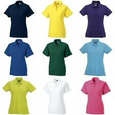 Russell Europe Womens/Ladies Classic Cotton Short Sleeve Polo Shirt (RW3279)