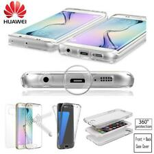 360 Shockproof Ultra Thin Clear Gel Case Cover  Protector For Huawei Phone