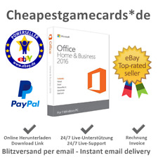 MS Office 2016 Home&Student/Home&Business Produkt Key per Email