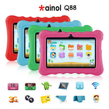 "7"" Android 7.1 Niño Niña Tablet Pc Quad Core 1gb + 8gb WIFI 3g SENSOR G"