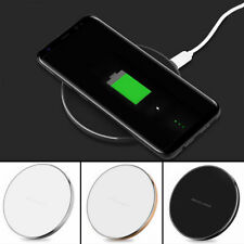 Apple iPhone X 8 Plus QI Wireless Charger Charging Dock Pad Mat Charge Plate UK