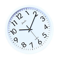Reloj de pared, Silencioso Non Ticking Quality Quartz con pilas 10 pulgadas