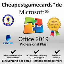 MS Office 2019/365/2016 Personal/HP/Pro Plus 6/12 Months Extension key per email