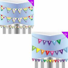 Adults Birthday Party 3 Meter Decorative Buntings Childrens Party Accessories