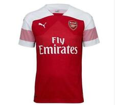 Official Puma Arsenal Gunners Junior Kid Youth Home Football shirt top 2018/2019
