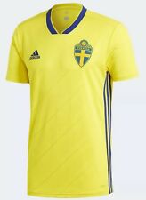 adidas Sweden Home Men's  Jersey World Cup 2018-2019 (BR3838)