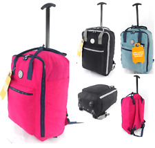 4 Wheel Spinner Hard shell ABS Suitcase Hand Luggage Hold Trolley Case Cabin Bag