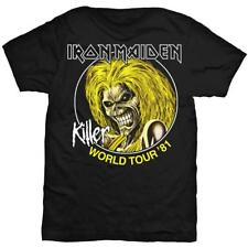 Iron Maiden: 'Killer World Tour '81' T-Shirt New and official! *Killers*