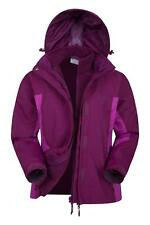 Mountain Warehouse Chaqueta Mujer impermeable 3 en 1 Forro Desmontable Storm