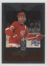 1995-96 Donruss Elite Die-Cut Uncut 85 Paul Coffey Detroit Red Wings Hockey Card