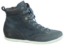 Timberland Earthkeepers EK Leather Navy Blue Womens Boots Lace Up Shoes 8336R U3