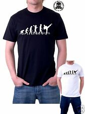 Evolution of Taekwondo T-SHIRT DIVERTENTE Arti Marziali Evolution t-shirt