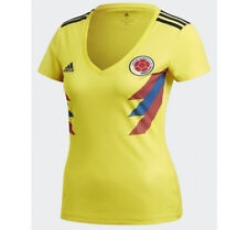 adidas 2018 World Cup Colombia Women's Home Jersey BR3507 1805