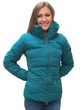 Geox Donna Jacket Casual Moda W4428B F4047 Winter Aqua Giubbottino Fashion