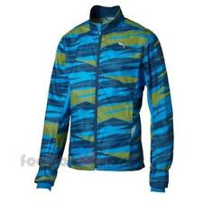 Puma Graphic Woven Wind Jacket 513062 02 uomo zip Royal Yellow moda Nylon IT