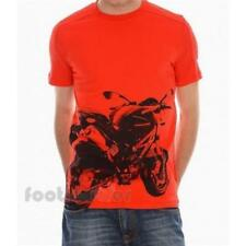 Puma Ducati Corse Graphic Tee 559792 03 Uomo manica corta T-Shirt Red IT