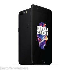 """5.5"""" ONEPLUS 5 4g SMARTPHONE oxygenos Snapdragon 835 Octa Core 2.45ghz 16mp+20mp"""