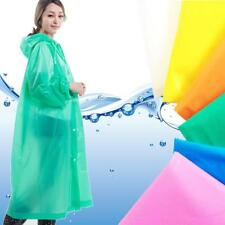 Women Raincoat Waterproof Transparent Cover Cloak Poncho Impermeable Cycling