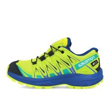 Salomon XA Pro 3D CSWP J Acid Lime Surf The Web Tropical Green Kinder Schuhe