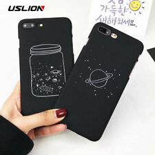 iPhone Back Cover Cute CartoonPlanet Moon Pattern Phone Case For iPhone 7 6 6s 8