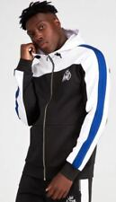 Kings Will Dream Mert Poly Hood, Black/White/Cobalt