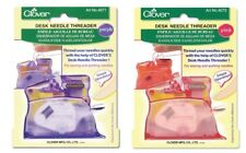 Clover Desk Top Needle Threader Sewing Fabric Quilts SELECT YOUR COLOR!