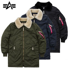 ALPHA INDUSTRIES giacca uomo Iniettore III cappotto invernale S M L XL XXL 3XL