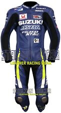 Suzuki Motorcycle / Motorbike Racing Cowhide Leather Suits in 1 Pcs & 2 Pcs