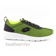 Lotto Megalight T3981 Mens Shoes Yellow Black Nylon Running Sneakers Trainers Ca