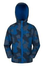 Mountain Warehouse Chaqueta estampada Exodus Softshell para niño