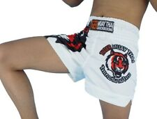 MMA Tiger Boxing Shorts Cage Fighting Muay Thai Martial Arts White Tiger Boxing