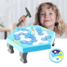 Save The Penguin Interactive Game Break Ice Block Hammer Penguin Trap Game Toy L