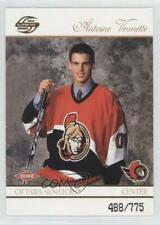 2003-04 Pacific Supreme #130 Antoine Vermette Ottawa Senators Rookie Hockey Card