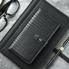 Crocodile Flip PU Leather Case Card Wallet Cover Stand For Xiaomi Redmi Phones