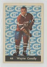 1961-62 Parkhurst #44 Wayne Connelly Montreal Canadiens RC Rookie Hockey Card