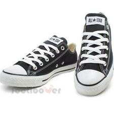 Converse Chuck Taylor Shoes M9166C All Star Ox Mens Womens Low Black Trainers.