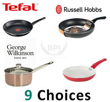 CERAMIC COATED MARBLE NON STICK FRYING SAUCE PAN STAINLESS FRYPAN 18,20,24,28,32