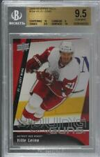 2009-10 Upper Deck #204 Ville Leino BGS 9.5 GEM MINT Detroit Red Wings RC Card