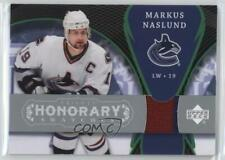 2007 Upper Deck Trilogy Honorary Swatches HS-MN Markus Naslund Vancouver Canucks