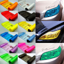Tint Auto Car Smoke Fog Light Headlight Taillight Tint Vinyl Film Sheet Stickers