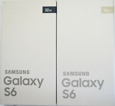 Original Samsung Galaxy S6 32GB Black Sapphire Gold Leerbox mit Inlay Karton Box
