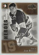 2004 In the Game Heroes and Prospects #127 Jean Ratelle Baltimore Clippers (AHL)